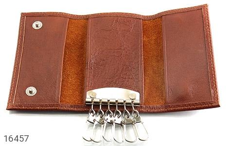 کیف چرم طبیعی مخصوص کلید - تصویر 4