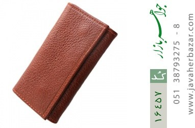 کیف چرم طبیعی مخصوص کلید - کد 16457