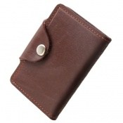 کیف چرم طبیعی مخصوص کارت