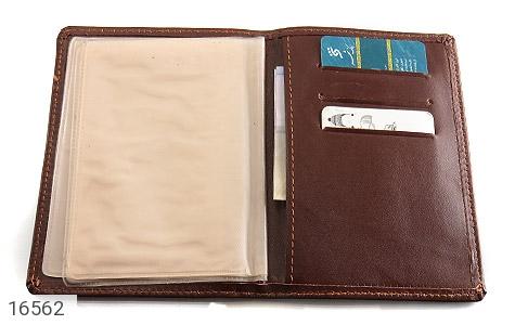 کیف چرم طبیعی مخصوص مدارک - تصویر 4