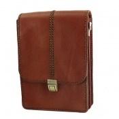 کیف چرم طبیعی بند دار دوشی