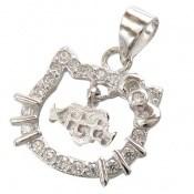مدال نقره فانتزی طرح کیتی زنانه