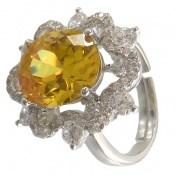 انگشتر نقره سلطنتی و درشت زنانه