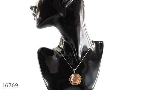 مدال نقره درشت طرح ملکه زنانه - عکس 7