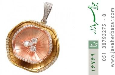 مدال نقره درشت طرح ملکه زنانه - کد 16769