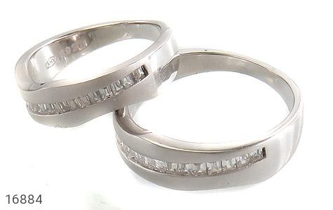 حلقه ازدواج نقره طرح اسپرت - عکس 1