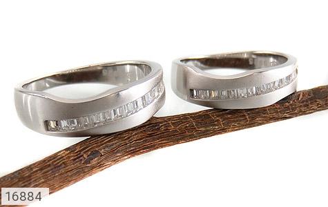 حلقه ازدواج نقره طرح اسپرت - عکس 5