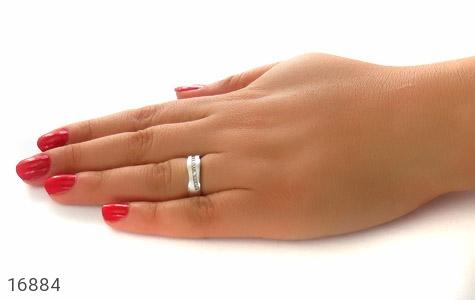 حلقه ازدواج نقره طرح اسپرت - عکس 7