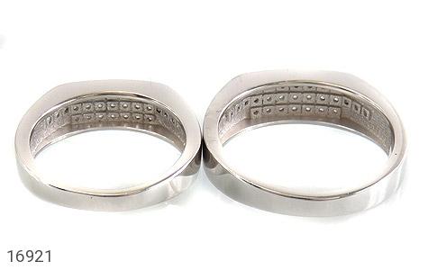 حلقه ازدواج نقره طرح گیتی - تصویر 4