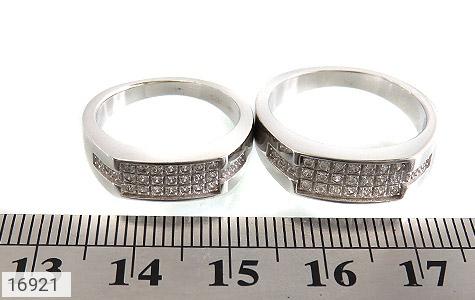 حلقه ازدواج نقره طرح گیتی - تصویر 6
