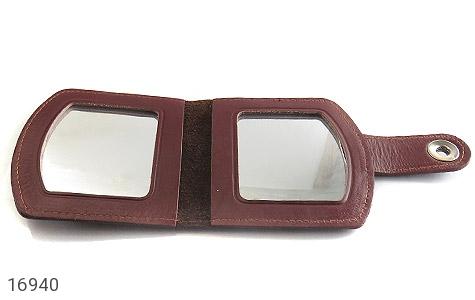 ست چرم طبیعی سه تکه کیف جاسوئیچی آینه - تصویر 4
