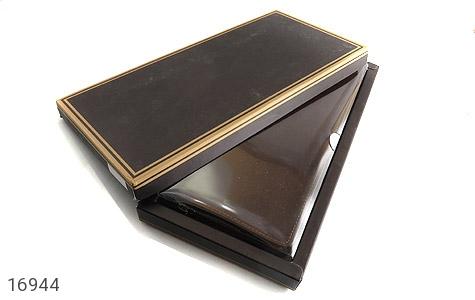 کیف چرم طبیعی دسته چک زیپ دار - عکس 11