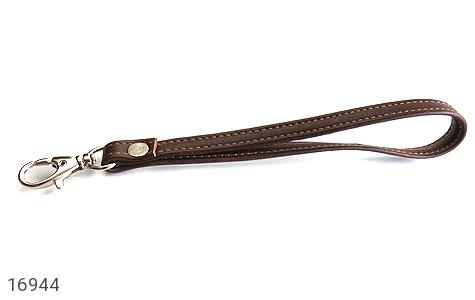 کیف چرم طبیعی دسته چک زیپ دار - تصویر 8