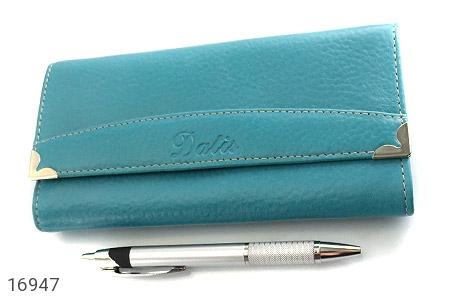 کیف چرم طبیعی به همراه خودکار زنانه - عکس 1
