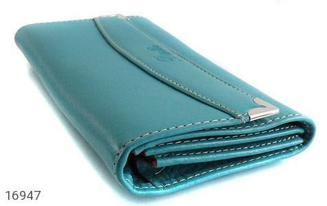 کیف چرم طبیعی به همراه خودکار زنانه - تصویر 2