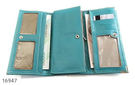 کیف چرم طبیعی به همراه خودکار زنانه - تصویر 4