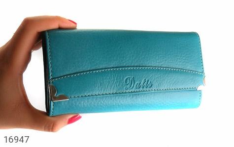 کیف چرم طبیعی به همراه خودکار زنانه - عکس 7