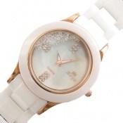 ساعت کوارتـز سرامیکی quartz صفحه سفید زنانه