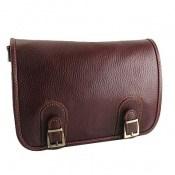 کیف چرم طبیعی بند دار