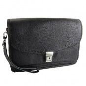 کیف چرم طبیعی دستی مردانه