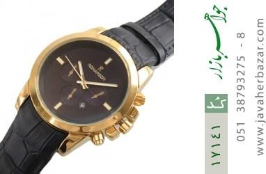 ساعت رمانسون بند چرمی Romanson کلاسیک دورطلائی مردانه - کد 17141