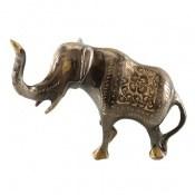 تندیس برنج دکوری طرح فیل