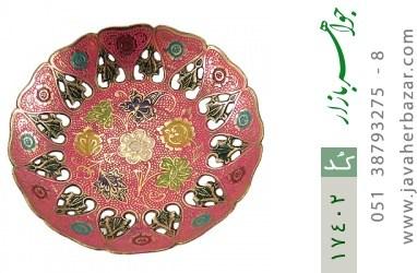 تندیس برنج فریم دست ساز - کد 17402