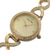 ساعت لوجی دیانا Luigi Danna اسپرت طلائی دورنگین زنانه