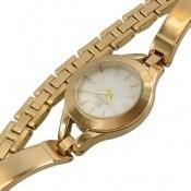 ساعت سواروسکی Swarovski طرح دستبندی طلائی مجلسی زنانه