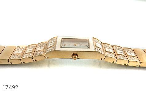 عکس ساعت دریم Dream طلائی پرنگین مجلسی زنانه - شماره 3