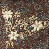 ترمه رومیزی سه تکه عسلی طرح بهار