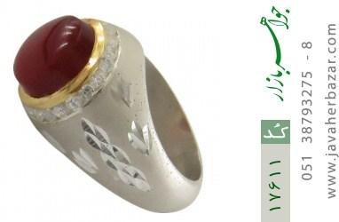 انگشتر عقیق یمن هنر دست استاد یزدانی - کد 17611