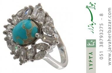 انگشتر فیروزه نیشابوری - کد 17638