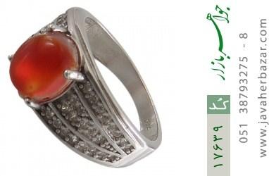 انگشتر عقیق یمن - کد 17639