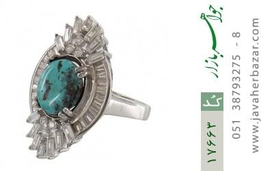 انگشتر فیروزه نیشابوری - کد 17663