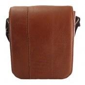 کیف چرم طبیعی دوشی بزرگ و شیک