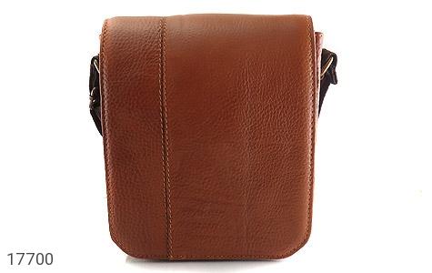 کیف چرم طبیعی دوشی بزرگ و شیک - عکس 1
