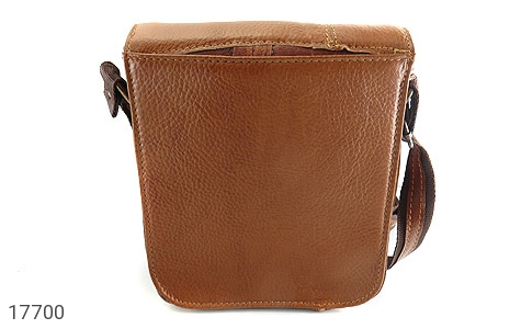 کیف چرم طبیعی دوشی بزرگ و شیک - عکس 3