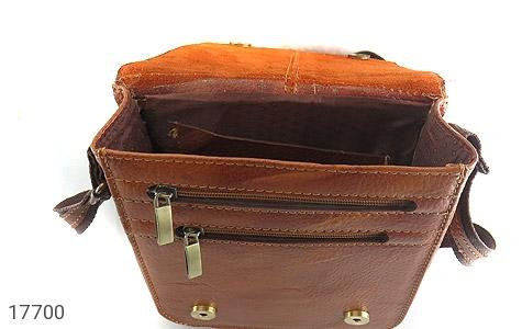 کیف چرم طبیعی دوشی بزرگ و شیک - عکس 7