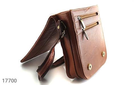 کیف چرم طبیعی دوشی بزرگ و شیک - تصویر 8