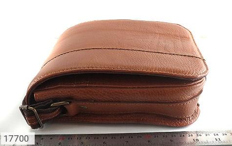 کیف چرم طبیعی دوشی بزرگ و شیک - عکس 9