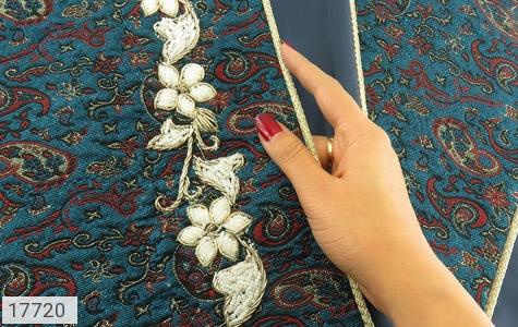 ترمه نگین تزئینی هنر دست - تصویر 6