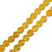 تسبیح جید زرد 101 دانه خوش رنگ