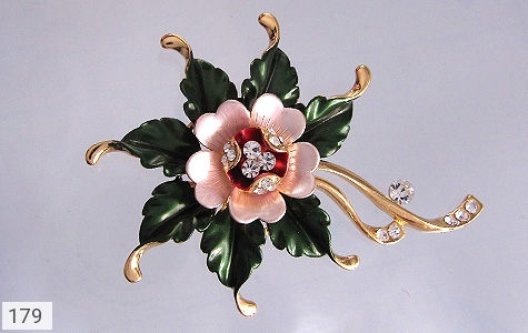 گل سینه طرح گل زنانه - عکس 1