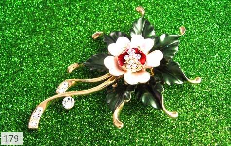 گل سینه طرح گل زنانه - تصویر 2