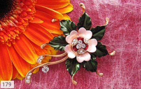 گل سینه طرح گل زنانه - تصویر 4