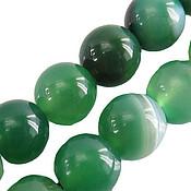 تسبیح عقیق سبز خوش رنگ 33 دانه