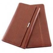 کیف چرم طبیعی ست زنانه و مردانه