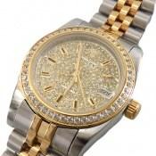ساعت رولکس Rolex دیت جاست دورنگ زنانه