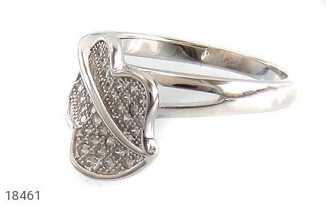 انگشتر نقره طرح مهرسا زنانه - عکس 1